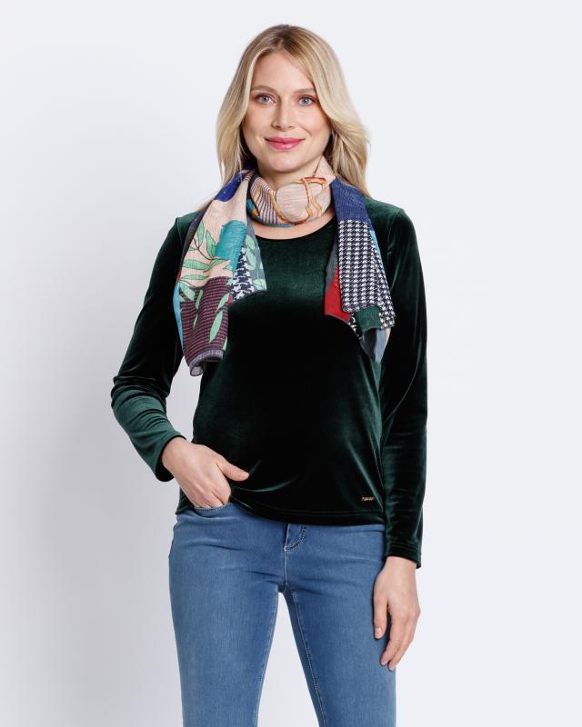 Сет: блуза и шарф Alfredo Pauly