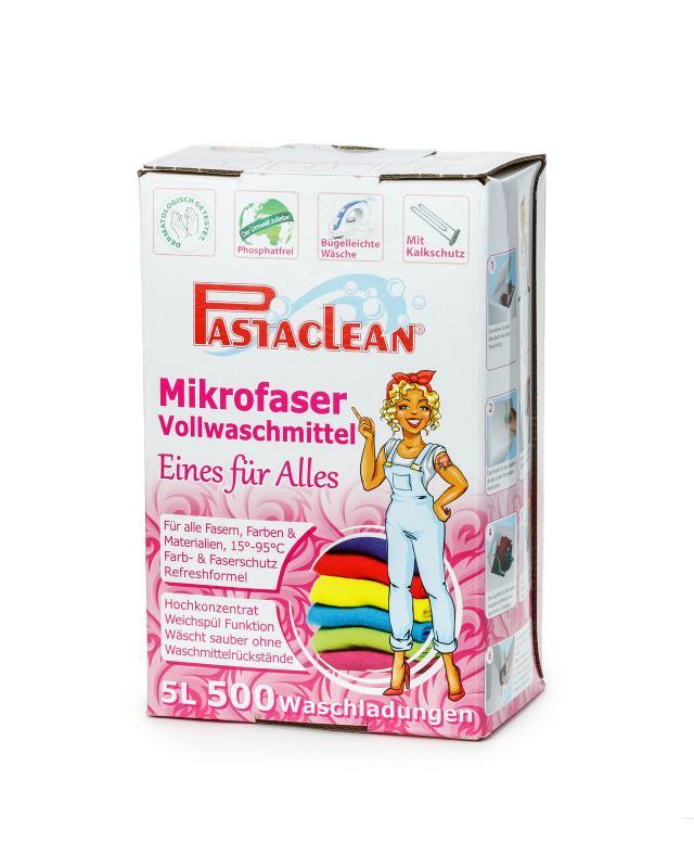 Жидкое средство для стирки белья, 5 л Pastaclean фото
