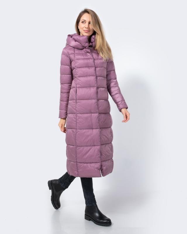 Пальто, р. 56, цвет пепельно-розовый