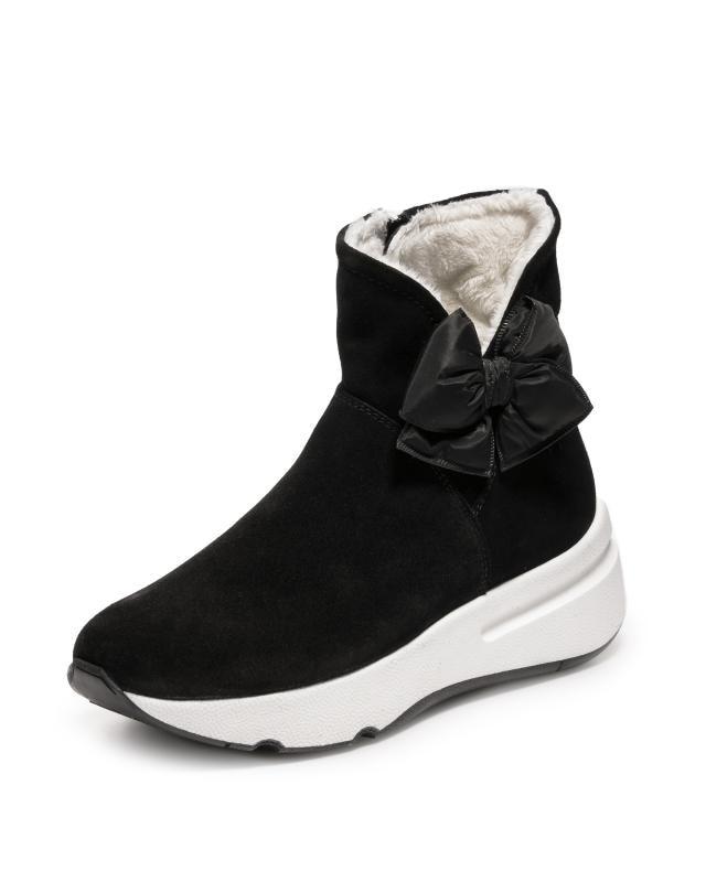 Ботинки, р. 41, цвет черный