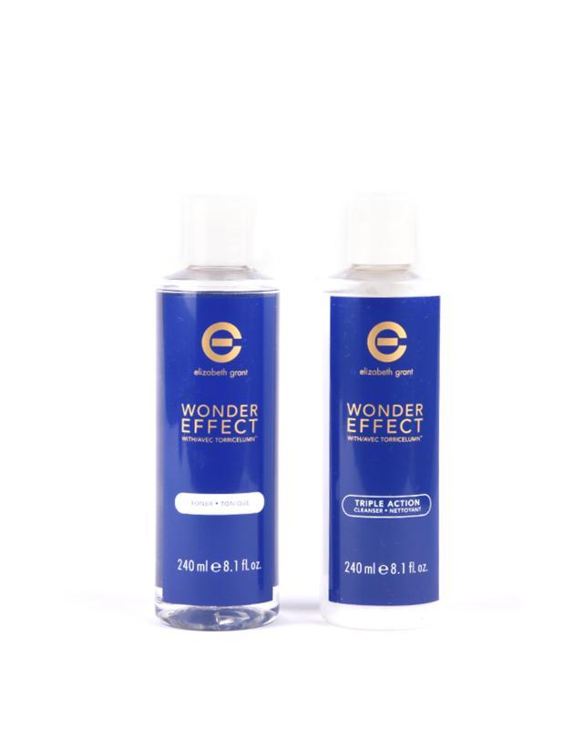 Набор для умывания: Очищающий гель-пилинг + Тоник Elizabeth Grant Wonder Effect