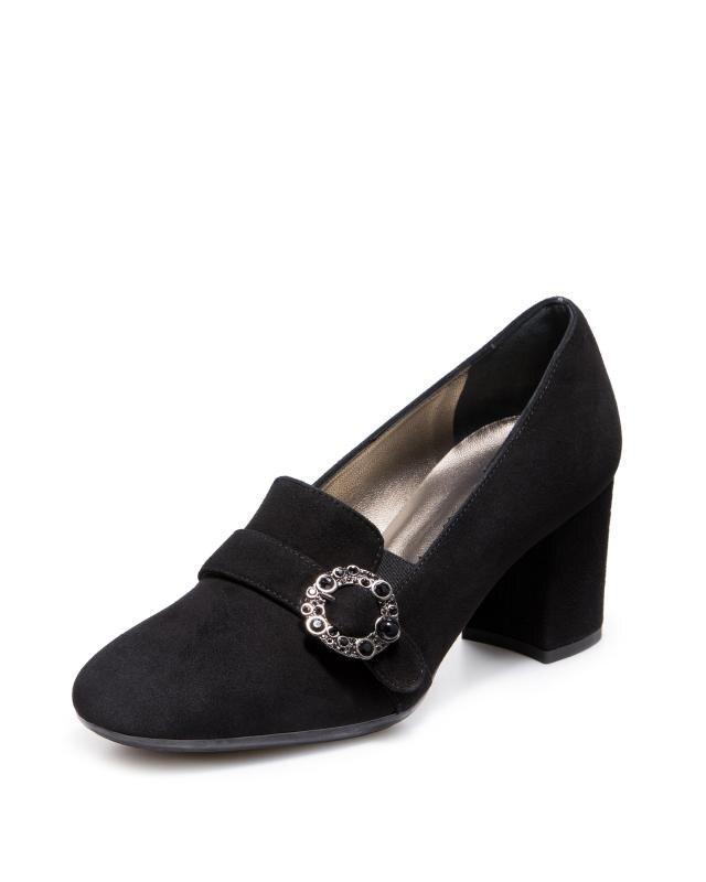 Туфли, р. 40, цвет черный