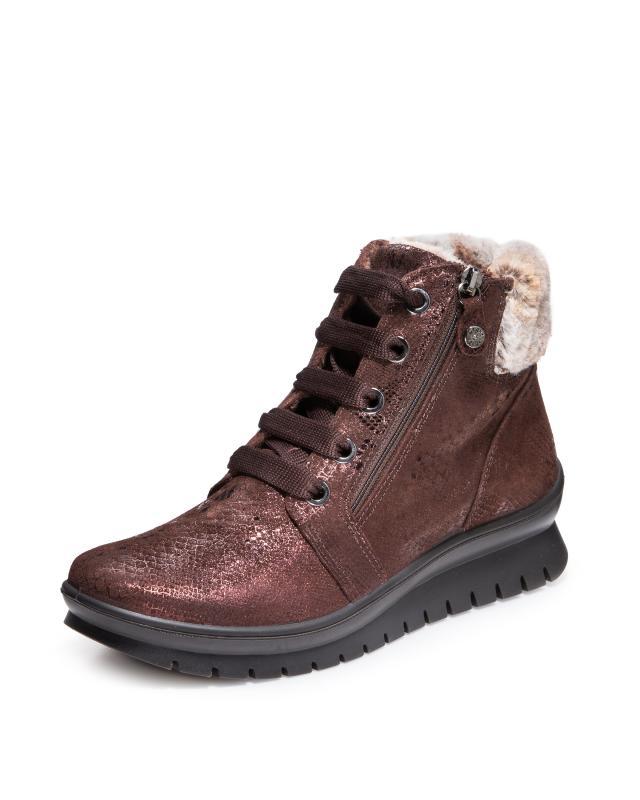 Ботинки, р. 38, цвет коричневый