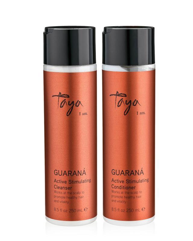 Стимулирующий шампунь и кондиционер Taya Guarana