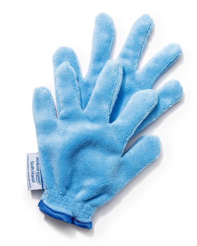 Перчатки для уборки «Софт», 2 шт. Das blaue Wunder