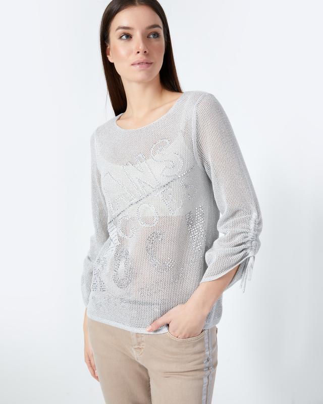 Пуловер, р. 50, цвет серый