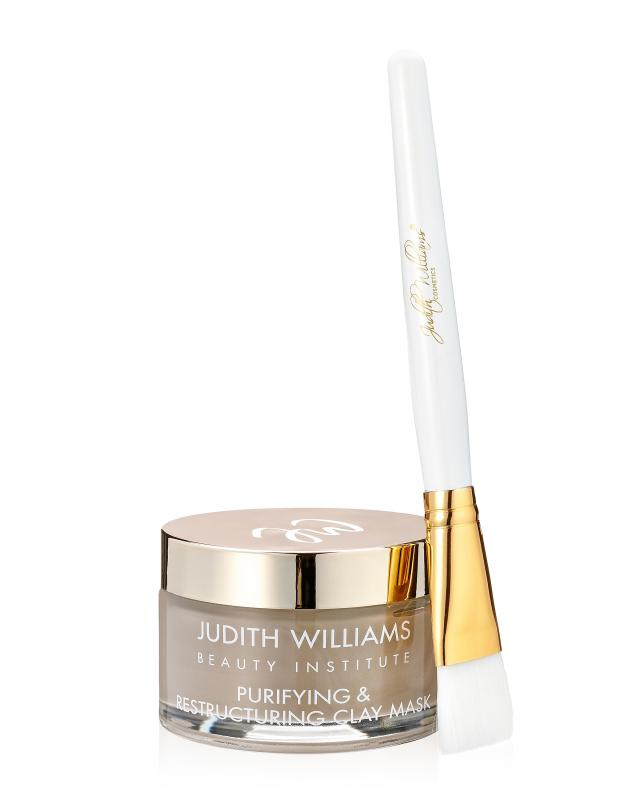 Очищающая маска для лица с антиоксидантами 100 мл + кисть косметическая Judith Williams Beauty Institute