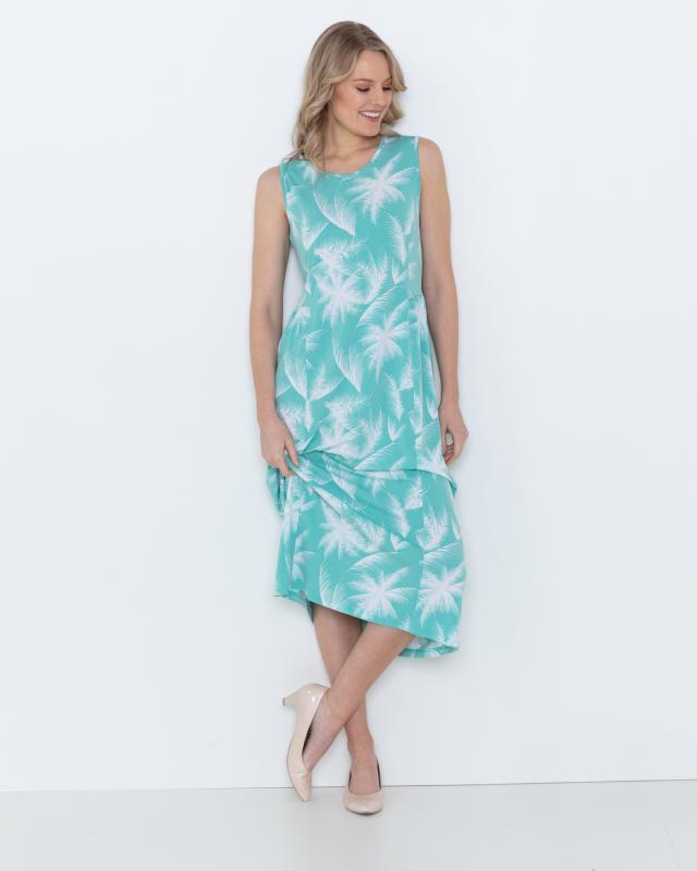 Платье, р. 50, цвет цв морской волны