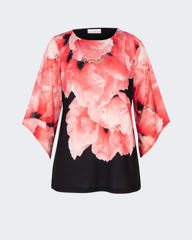 Блуза, р. 48, цвет красный