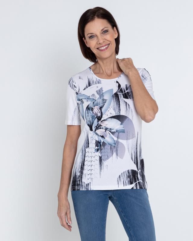 Блуза, р. 56, цвет джинс
