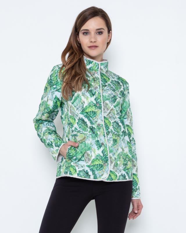 Куртка, р. 60, цвет зеленый