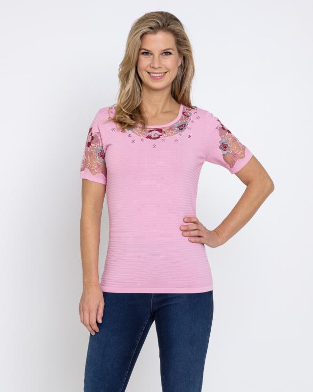Пуловер, р. 46, цвет нежно-розовый