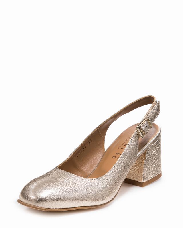 Туфли, р. 41, цвет платина