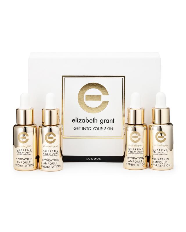 Гель-сыворотка для лица и шеи 4 шт. х 10 мл Elizabeth Grant Supreme Cell Vitality фото