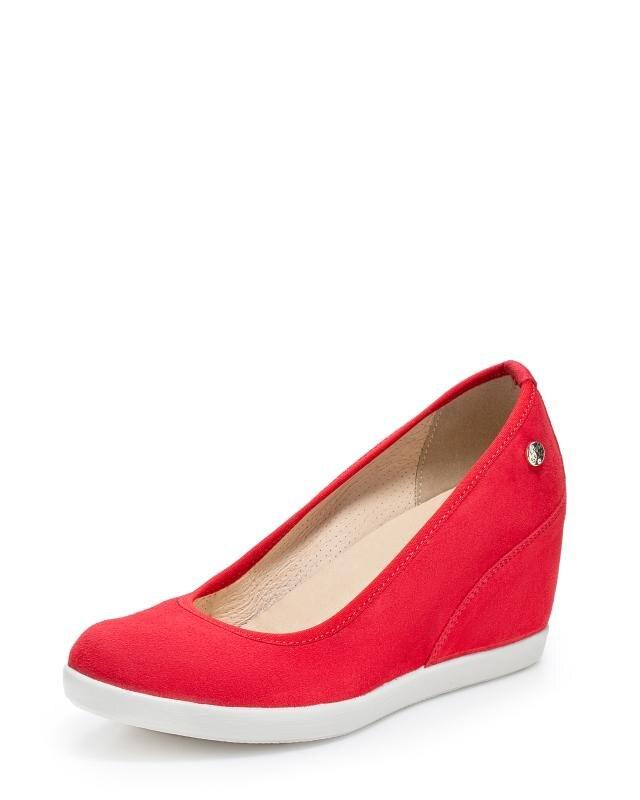 Туфли, р. 39, цвет красный
