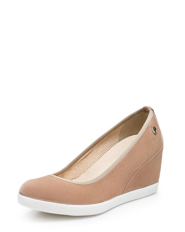 Туфли, р. 39, цвет коричневый