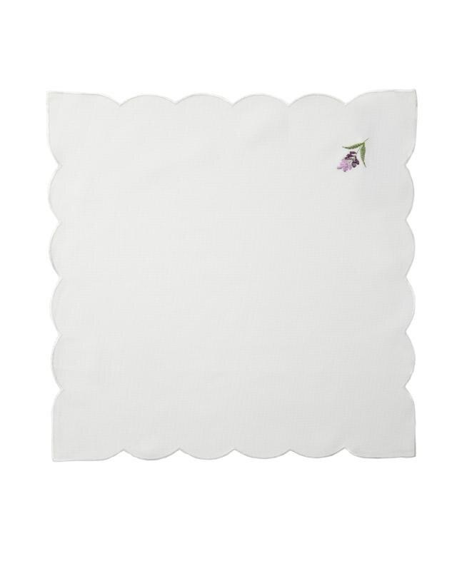 Салфетка с вышивкой 45х45 см Mikronesse фото