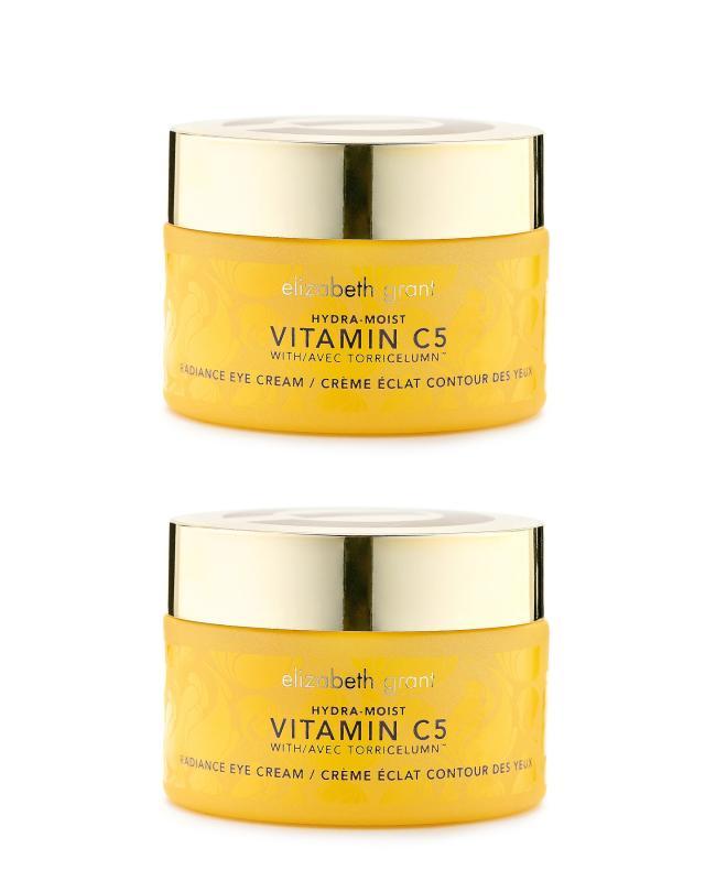 Укрепляющий крем от морщин для кожи вокруг глаз с витамином С, 30 мл х 2 шт. Elizabeth Grant Hydra-Moist Vitamin C5 противоотечный крем гель для зоны вокруг глаз 30 мл
