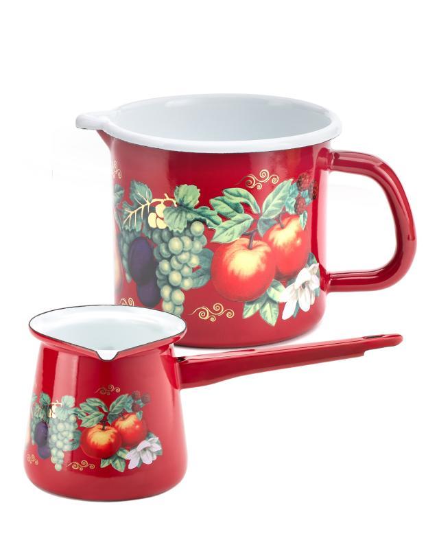 Набор для кофе: турка + молочник Metrot фото