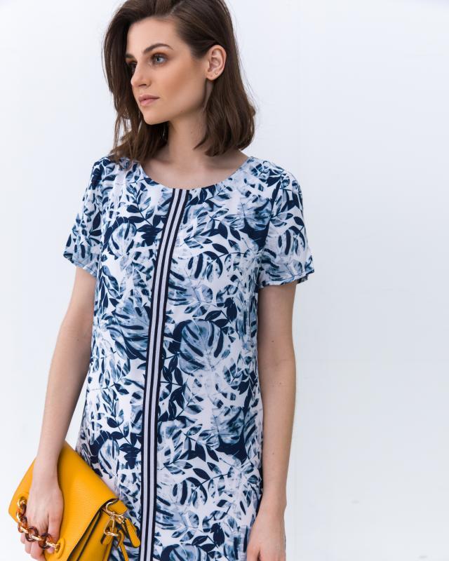Платье, р. 58, цвет голубой