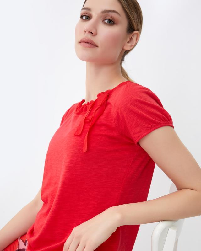Блузка, р. 50, цвет красный