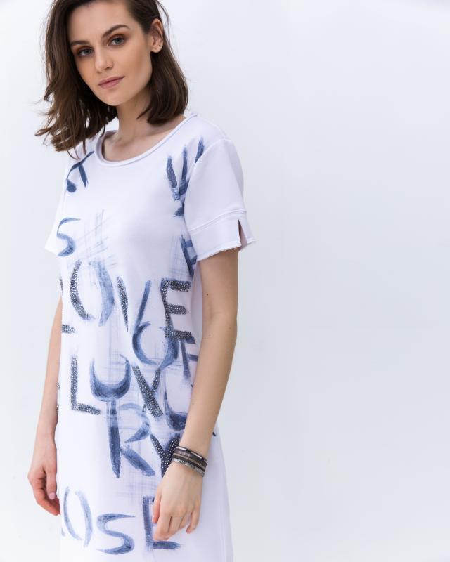 Платье, р. 54, цвет белый