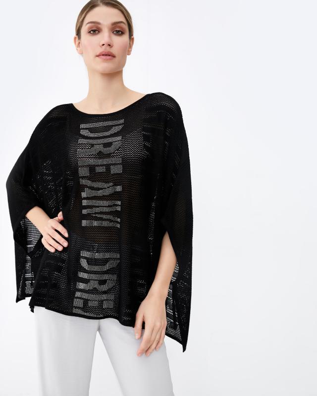 Пуловер, р. M, цвет черный