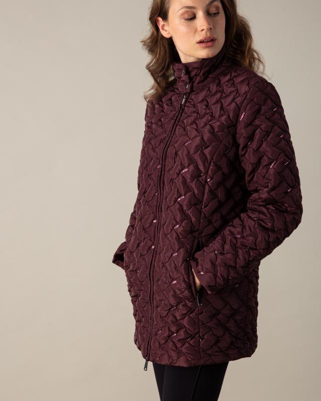 Куртка, р. 56, цвет бургунди