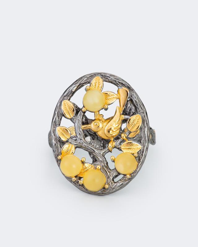 Кольцо «Дерево жизни» Ages of Amber