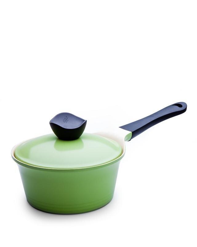 Ковшик с крышкой 1,9 л Ever Green Frybest посуда для приготовления пищи