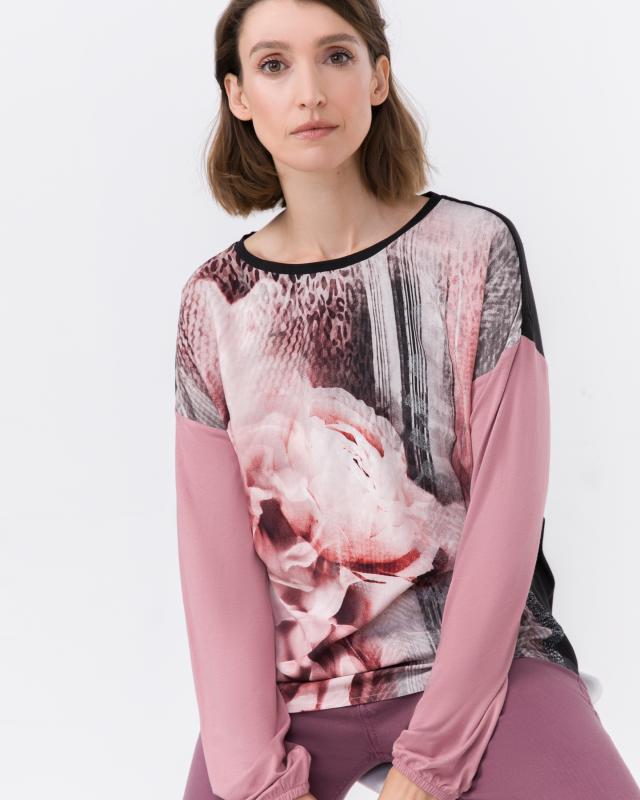 Блузка, р. 46, цвет розовый