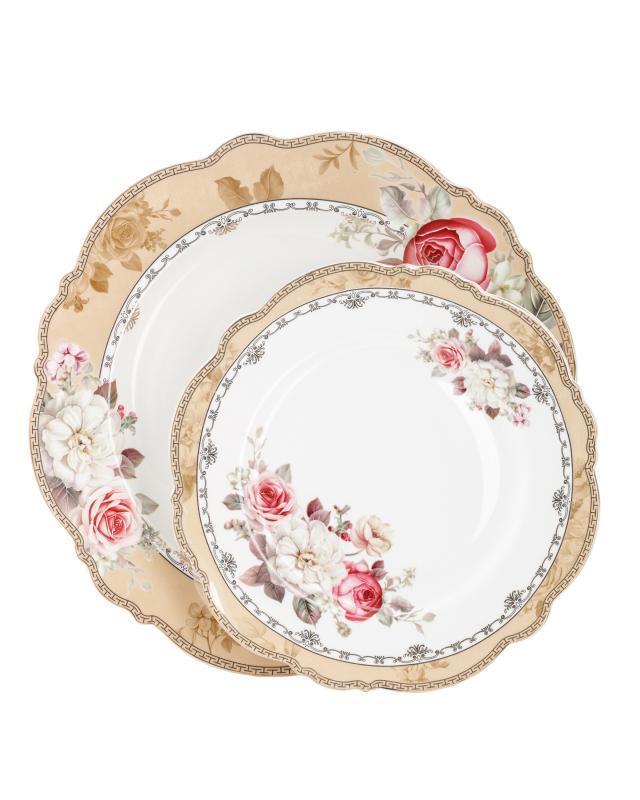 Набор обеденных тарелок, 8 шт. Beata Casa Royal Garden