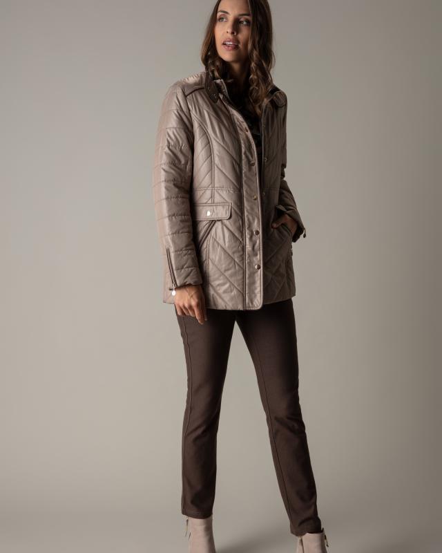 Куртка, р. 54, цвет серо-коричневый