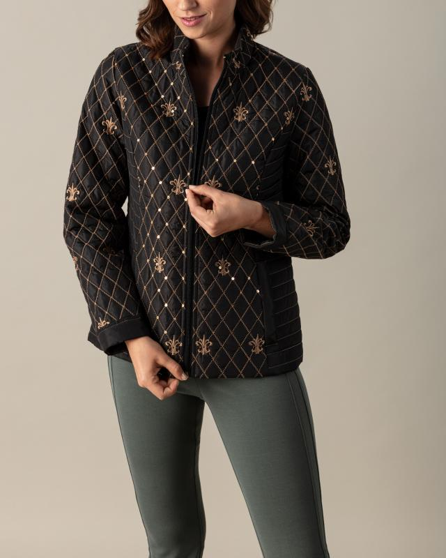 Куртка, р. 52, цвет черный