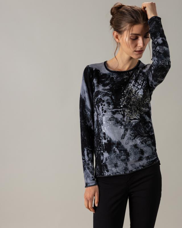 Пуловер, р. 46, цвет серый
