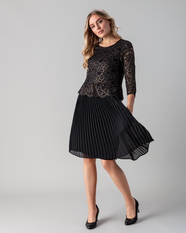 Платье, р. 46, цвет черный