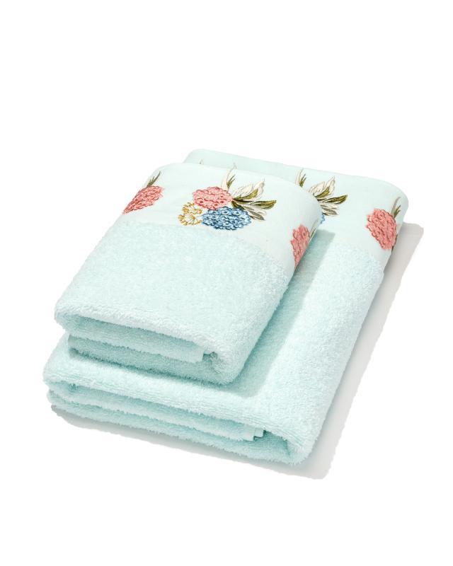 Комплект полотенец,2 шт. Minteks фото