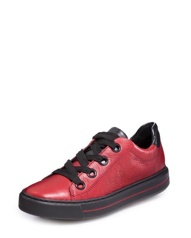 кеды низкие на шнуровке из спилка Кеды Ara