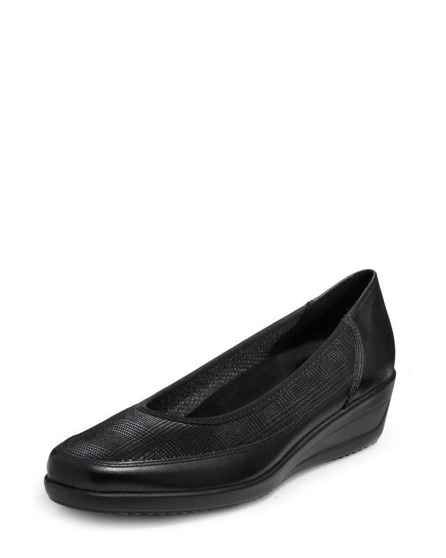 Туфли, р. 42, цвет черный