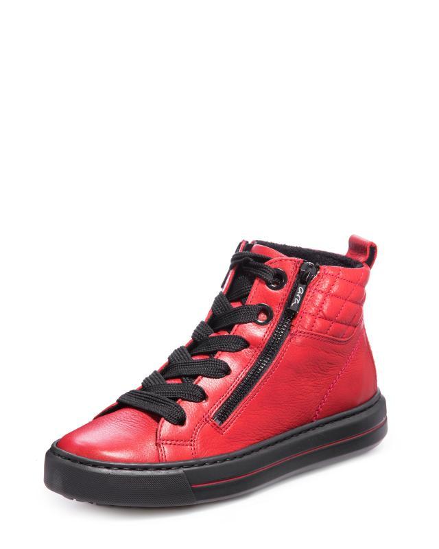 Ботинки, р. 36, цвет красный