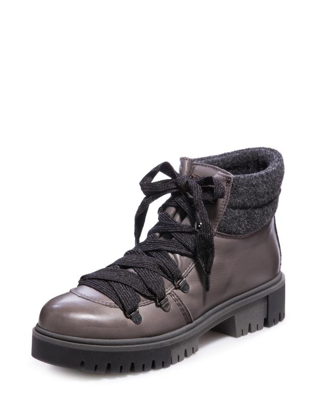 Ботинки, р. 40, цвет серый