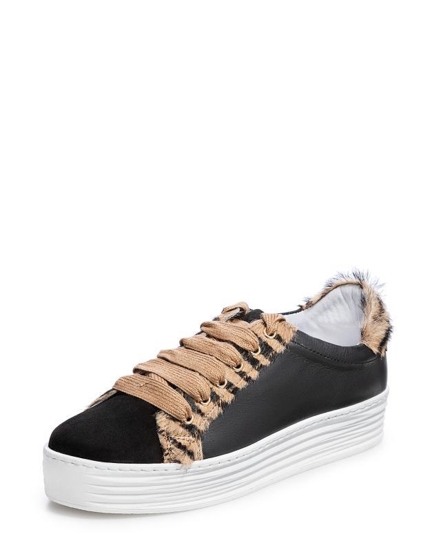 кеды низкие на шнуровке из спилка Кеды Elena