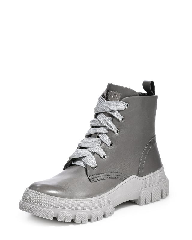 Ботинки, р. 37, цвет серый