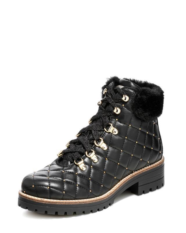 Ботинки, р. 39, цвет черный