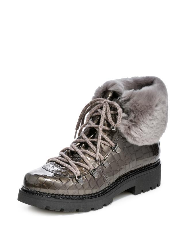 Ботинки, р. 37, цвет коричневый