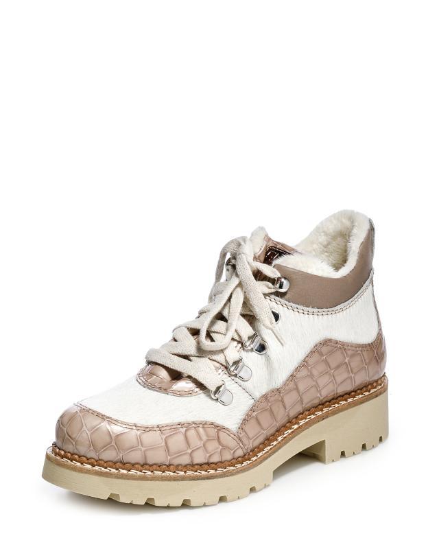 Ботинки, р. 36, цвет бежевый
