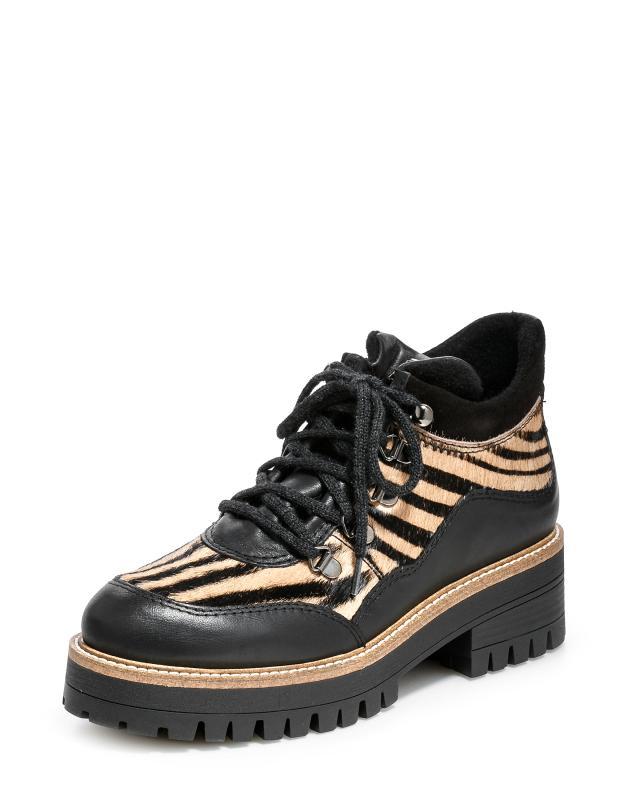 Ботинки, р. 40, цвет черный