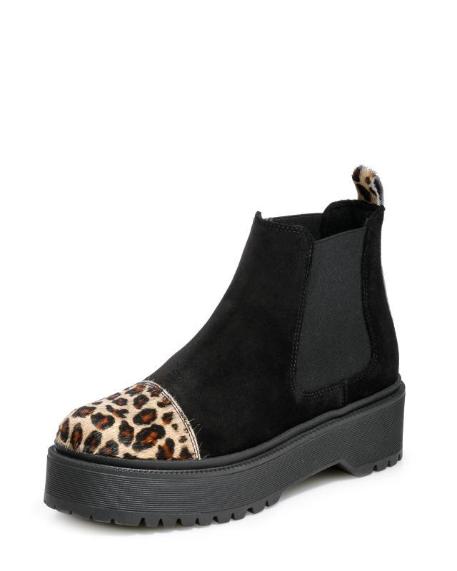 Ботинки, р. 36, цвет черный