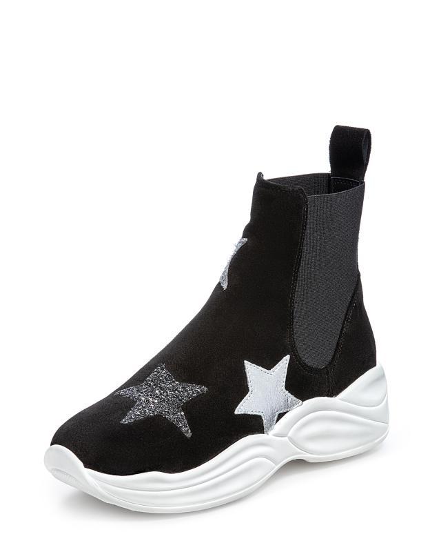 Ботинки, р. 35, цвет черный