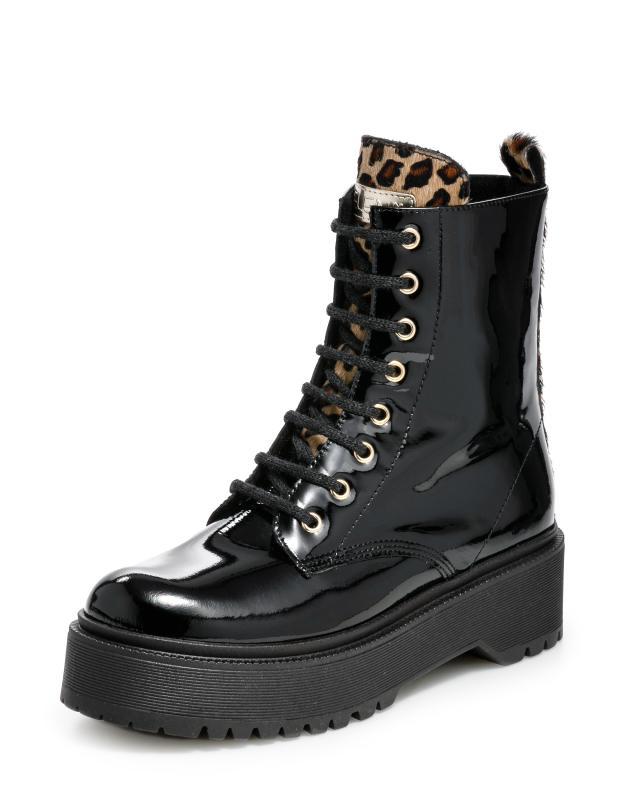Ботинки, р. 37, цвет черный